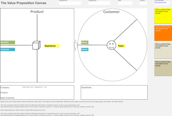 Business Model Canvas Template Excel Download Business Model Canvas Template Excel for Free