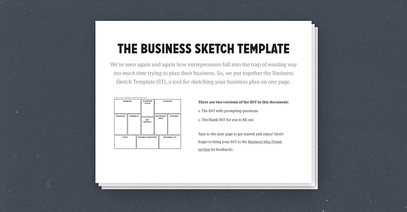 Business One Sheet Template How to Create A Simple Effective E Page Business Plan