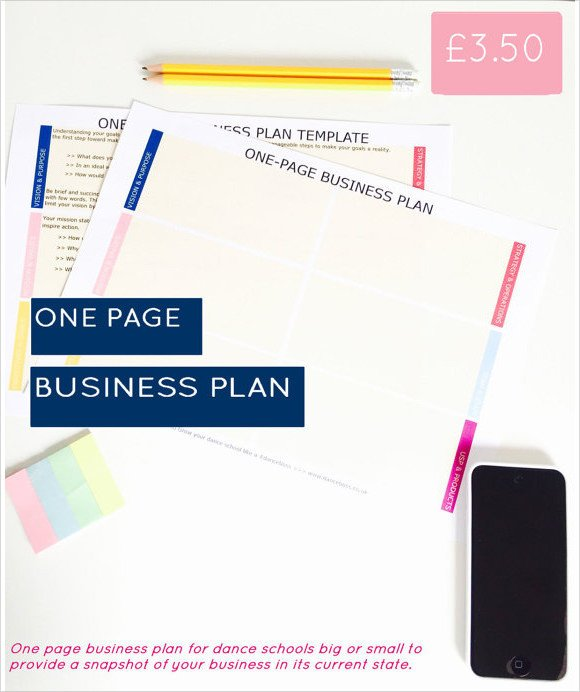 Business One Sheet Template Simple Business Plan Template 21 Documents In Pdf Word