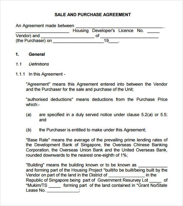 Buy Sell Agreements forms Sample Buy Sell Agreement 7 Free Documents In Pdf Word