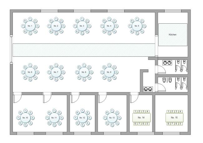Cafeteria Seating Chart Template Logiciel Pour Créer Des Plans De Tables Et Plans De Sièges