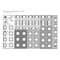 Cafeteria Seating Chart Template Restaurant Floor Plan Examples