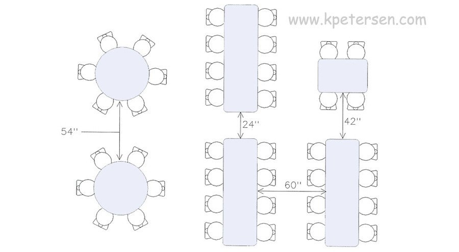 Cafeteria Seating Chart Template Tables What Size Do You Need