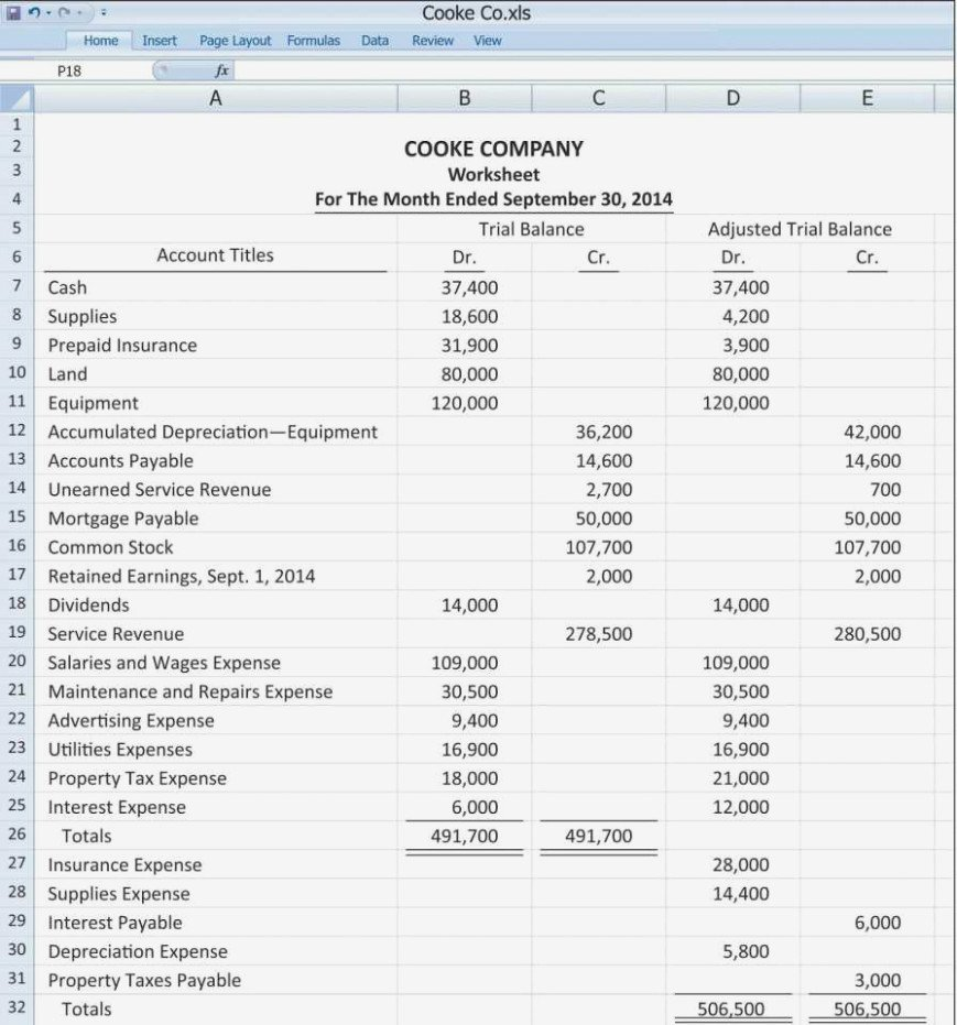Cam Reconciliation Spreadsheet Simple Guidance for You In Cam