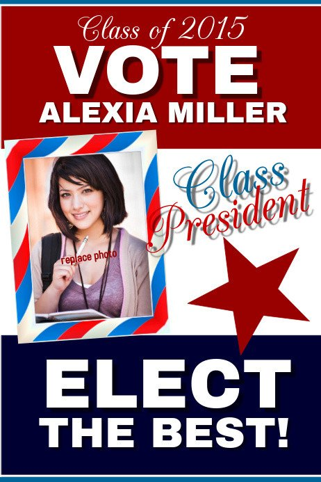 Campaign Poster Template Free Campaign Poster Templates
