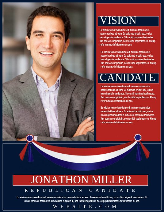 Campaign Poster Template Free Customize 1 010 Campaign Poster Templates