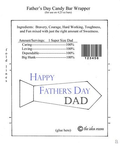 Candy Bar Wrapper Template Father S Day Hershey Bar Wrappers