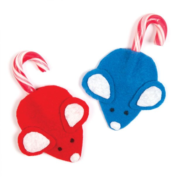 Candy Cane Mouse Pattern Candy Cane Mice Free Craft Ideas