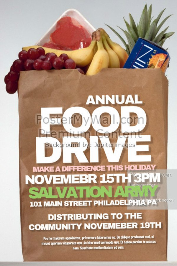 Canned Food Drive Flyer Template 25 Food Drive Flyer Designs Psd Vector Eps Jpg