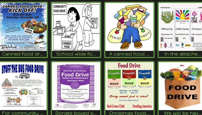 Canned Food Drive Flyer Template 5 Canned Food Drive Flyer Templates