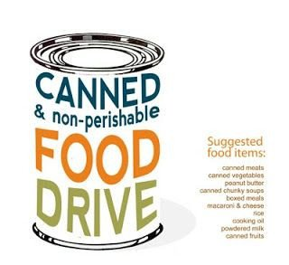 Canned Food Drive Flyer Template 8 Best Food Drive Images On Pinterest