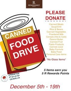 Canned Food Drive Flyer Template Food Design Posters