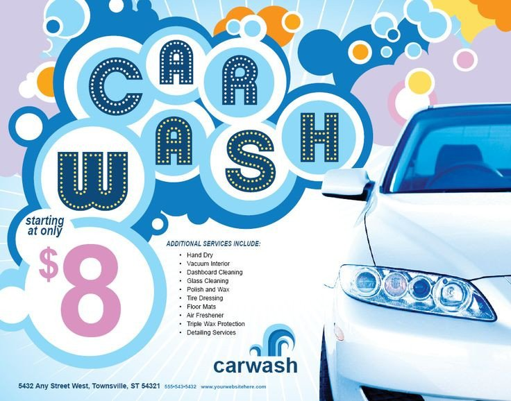 Car Wash Flyer Template 17 Best Images About Car Wash Flyer Inspiration On