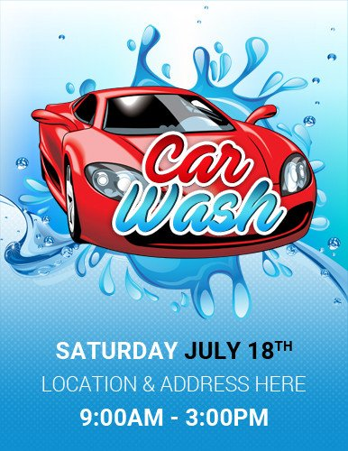 Car Wash Flyer Template Free Ms Word Car Show Flyer Template