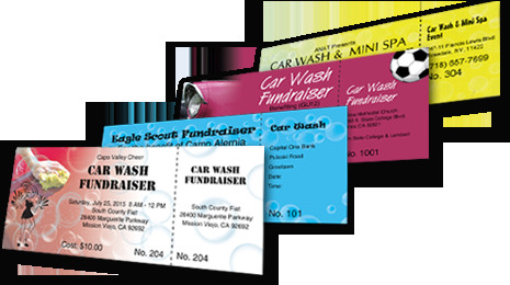 Car Wash Ticket Template Microsoft Word Car Wash Tickets Best Ticket Printing