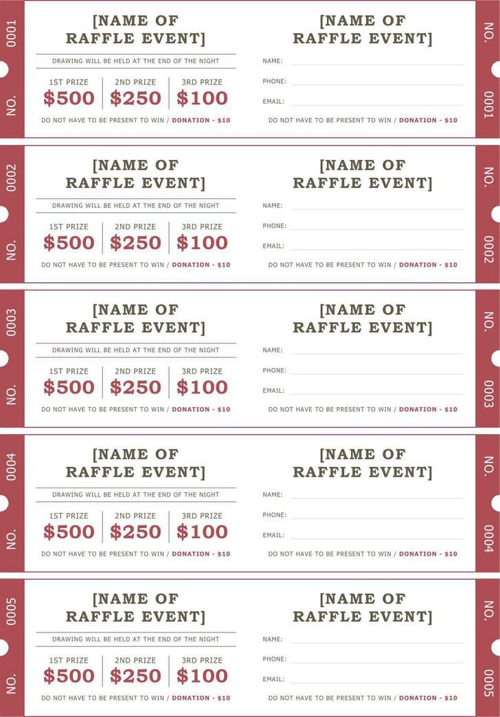 Car Wash Ticket Template Microsoft Word Ticket Templates