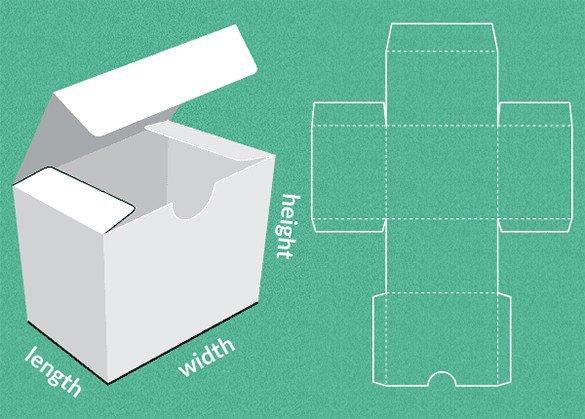 Cardboard Box Template Generator 11 Paper Box Templates Psd Vector Eps