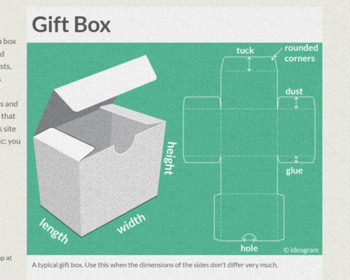 Cardboard Box Template Generator Resources to Create Your Own Paper Boxes with Cricut or