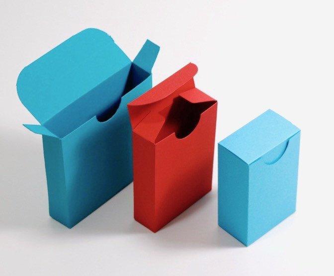 Cardboard Box Template Generator Templatemaker — Free Custom Sized Box Templates