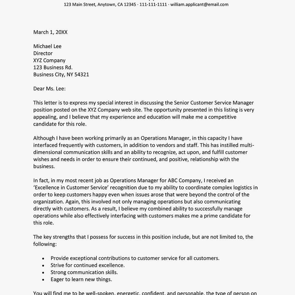 Career Change Cover Letter Sample Career Change Cover Letter and Writing Tips