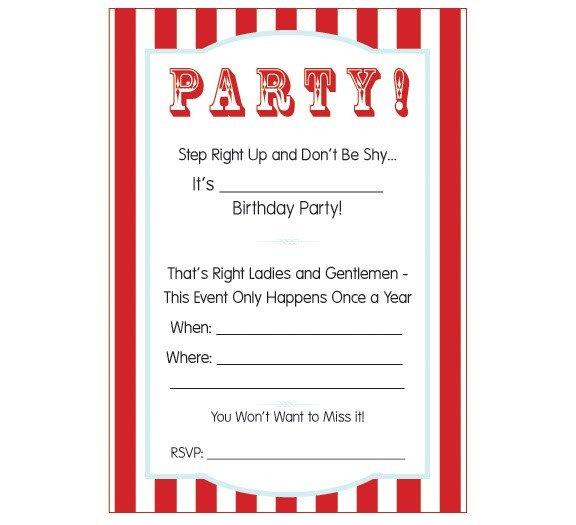Carnival Invitation Template Free Carnival Ticket Invitation Template Cliparts