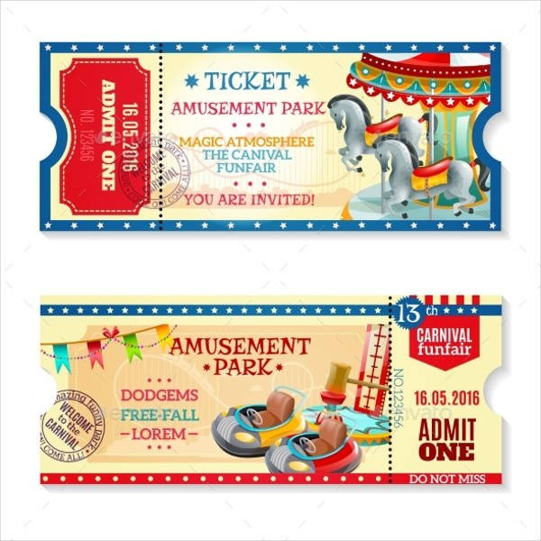 Carnival Ticket Invitation Template Free 15 Carnival Ticket Templates Free Psd Ai Vector Eps