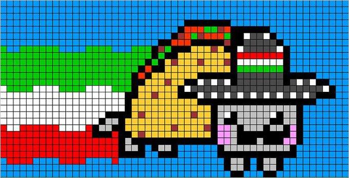 Cat Pixel Art Grid 30 Pixel Art Templates