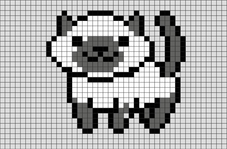 Cat Pixel Art Grid Cat Pixel Art – Brik