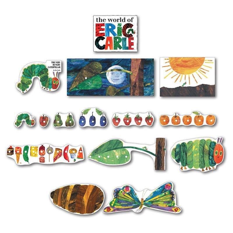 Caterpillar Cut Out Carson Dellosa Publications the Very Hungry Caterpillar