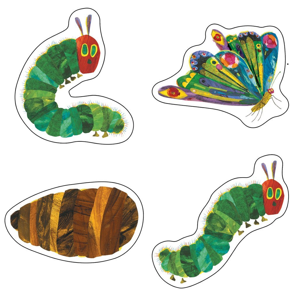 Caterpillar Cut Out Carson Dellosa the Very Hungry Caterpillar™ 45th