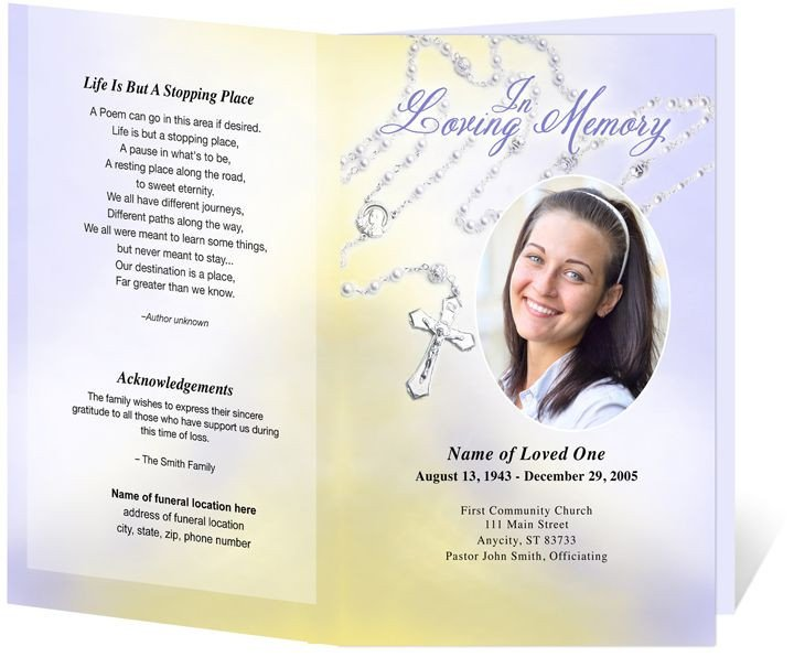 Catholic Funeral Mass Template 17 Best Images About Fold Program