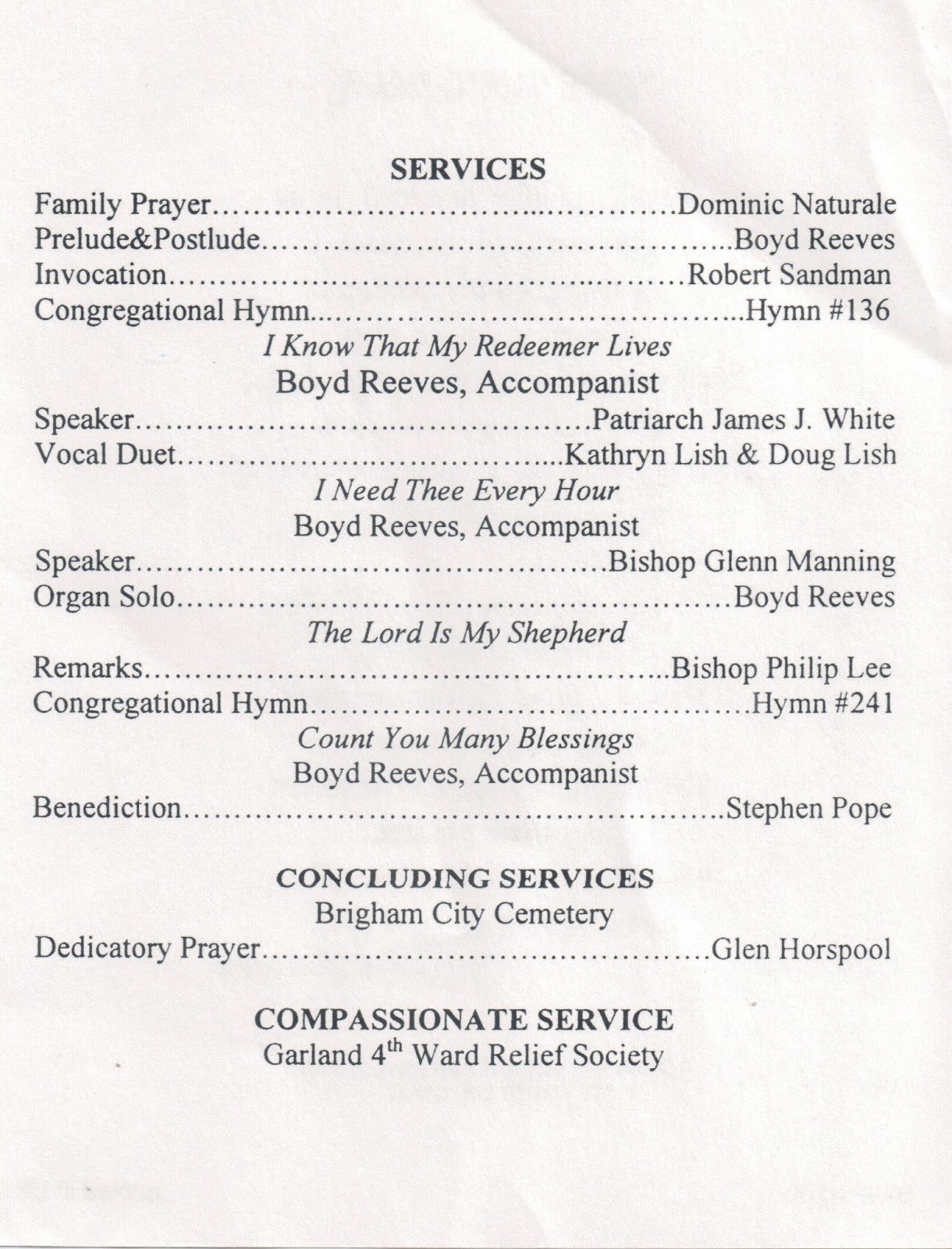 Catholic Funeral Mass Template Baptism Program Template