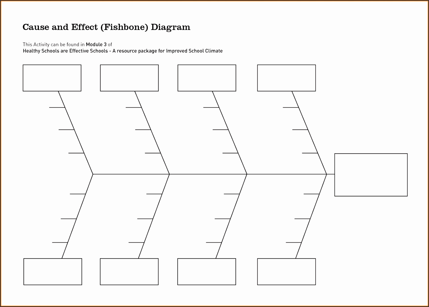 Cause and Effect Diagram Template 6 Cause and Effect Diagram Template Sampletemplatess