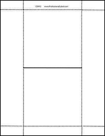 Cd Case Insert Template Cd Jewel Case Matte Insert Booklets 100 Sheets Cd912mhr