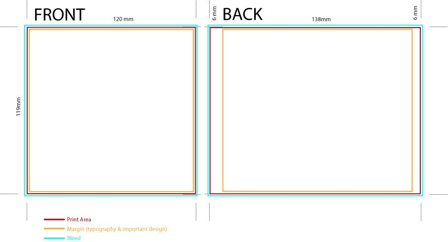 Cd Case Template Printable Cd Case Template