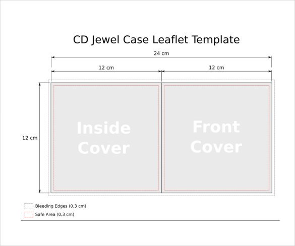 Cd Cover Template Word Jewel Case Templates 11 Free Word Pdf Psd Eps