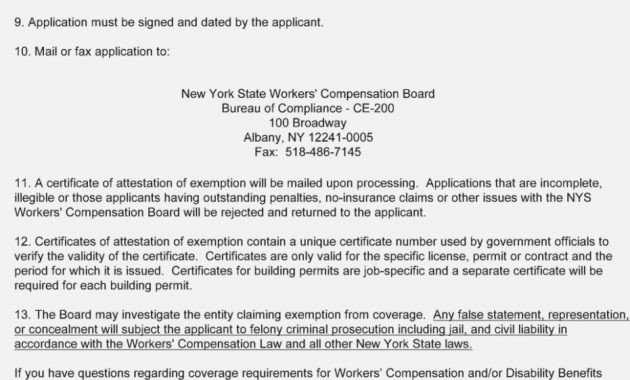 Ce 200 form New York is Workers Pensation form Ce 11