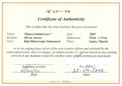 Certificate Of Authenticity Template Free Printable Certificate Of Authentication Templates