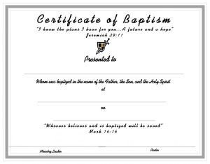 Certificate Of Baptism Template 10 Best Church Certificates Images On Pinterest