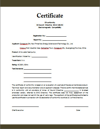 Certificate Of Compliance Template Conformity Certificate Template Microsoft Word Templates