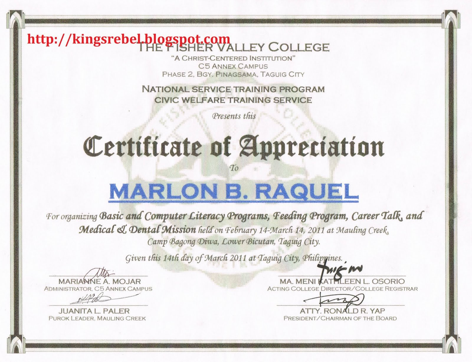 Certificate Of Recognition Template Tidbits and bytes Example Of Certificate Of Appreciation
