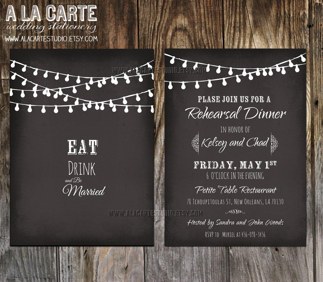 Chalkboard Invitation Template Free Chalkboard Wedding Invitation Templates