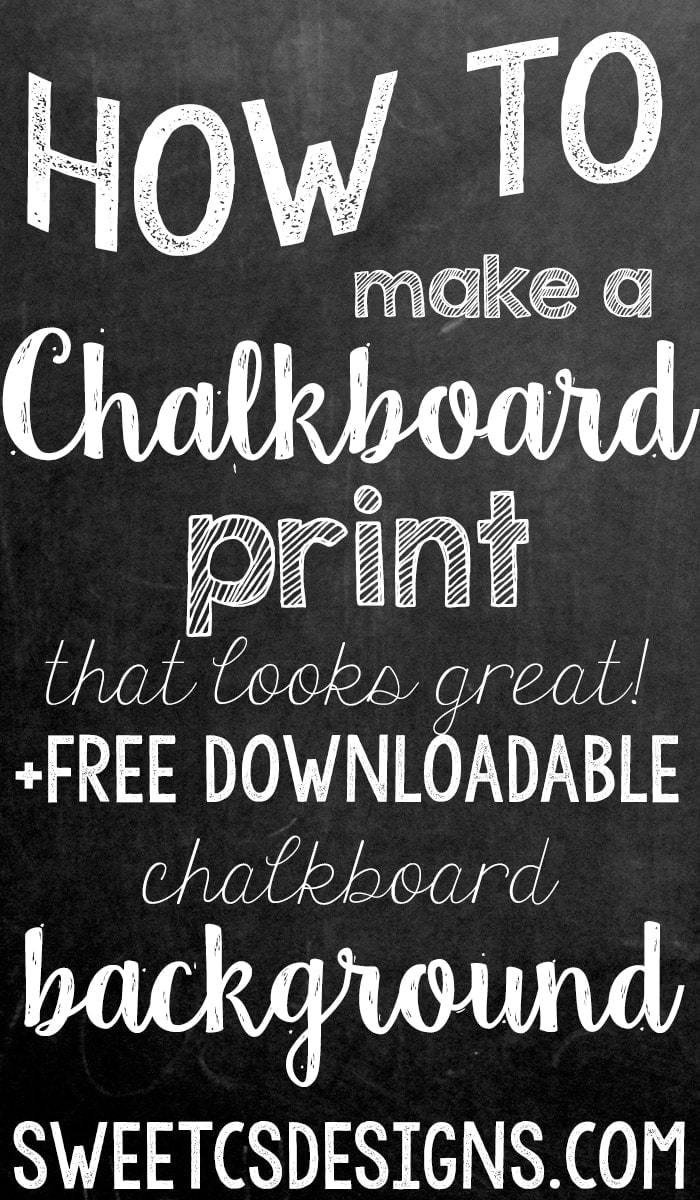 Chalkboard Poster Template Free Make A Chalkboard Printable In Shop