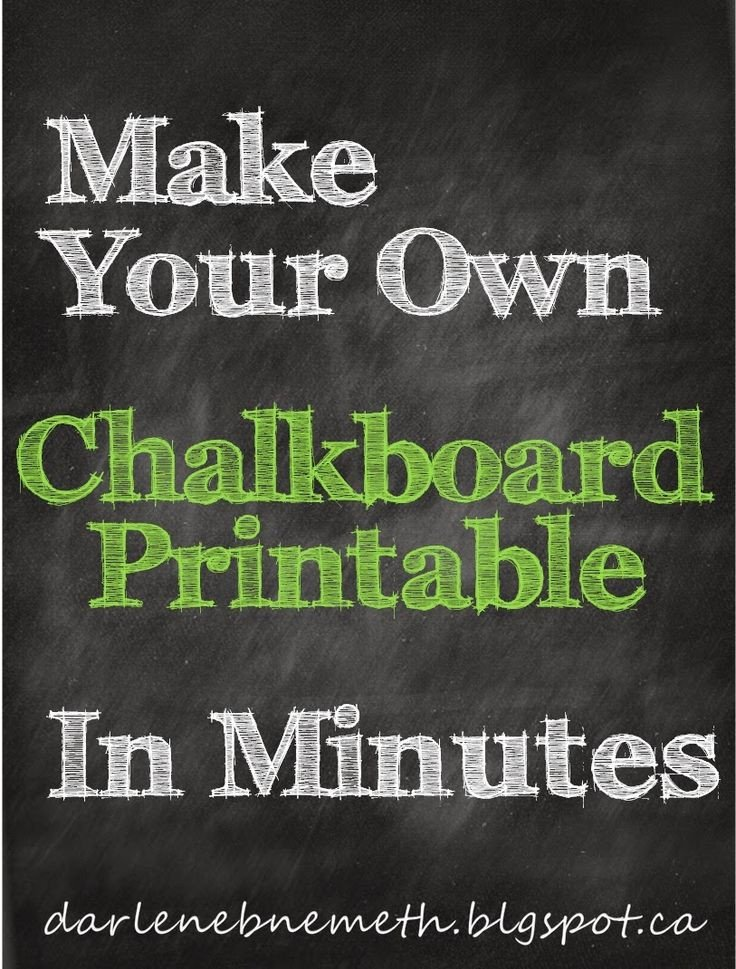 Chalkboard Template Microsoft Word Best 25 Chalkboard Printable Ideas On Pinterest