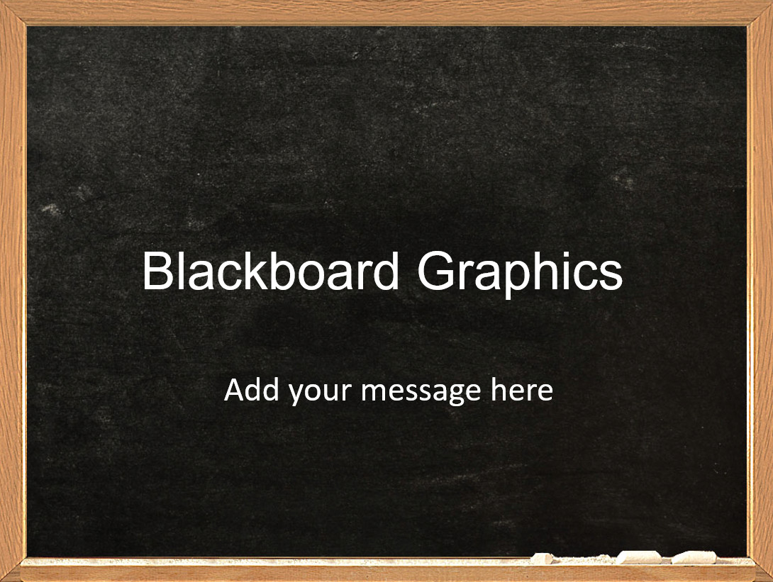 Chalkboard Template Microsoft Word Blackboard Powerpoint Template