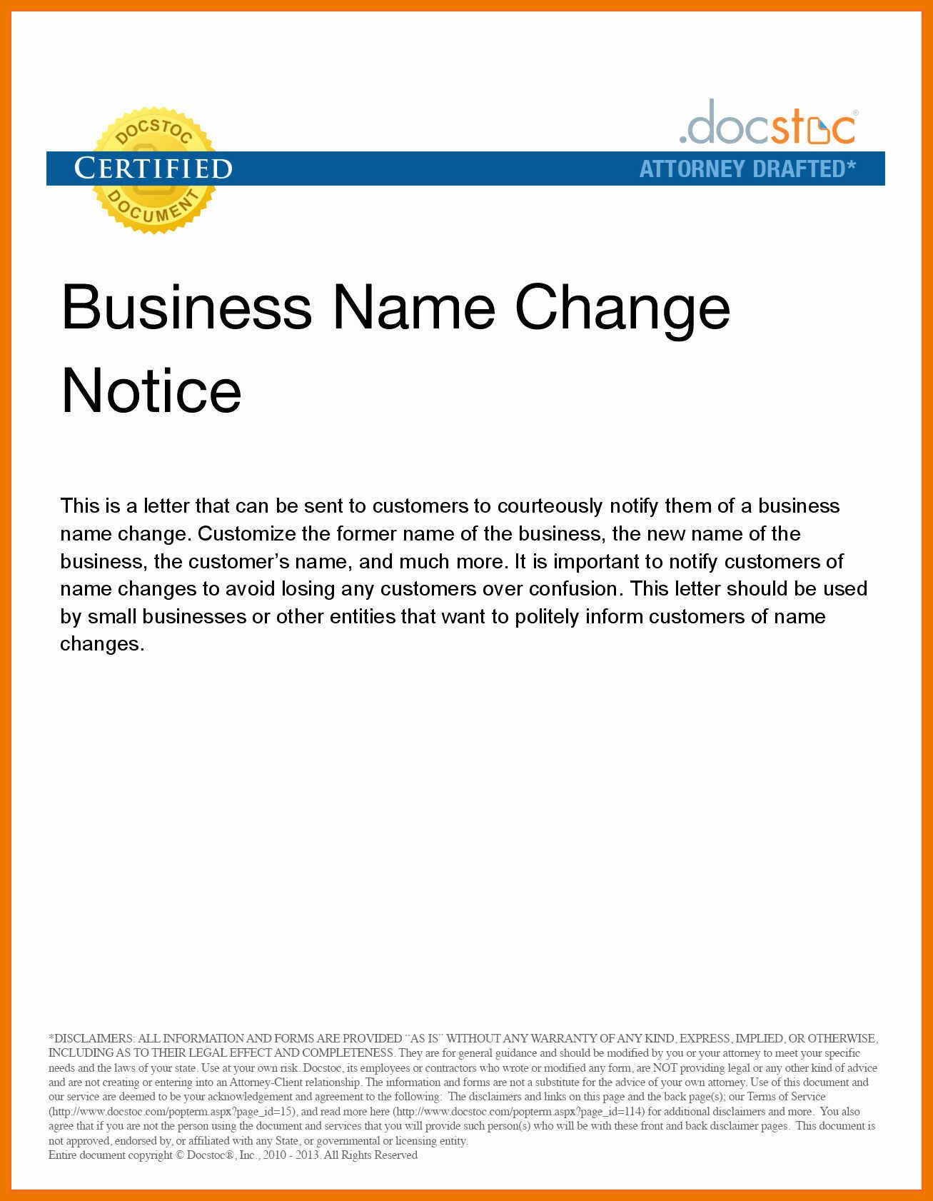 Change Of Ownership Letter 9 10 New Ownership Letter to Customers