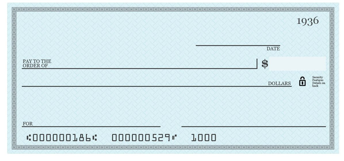Check Printing Template Excel 7 Blank Check Templates Word Excel Samples
