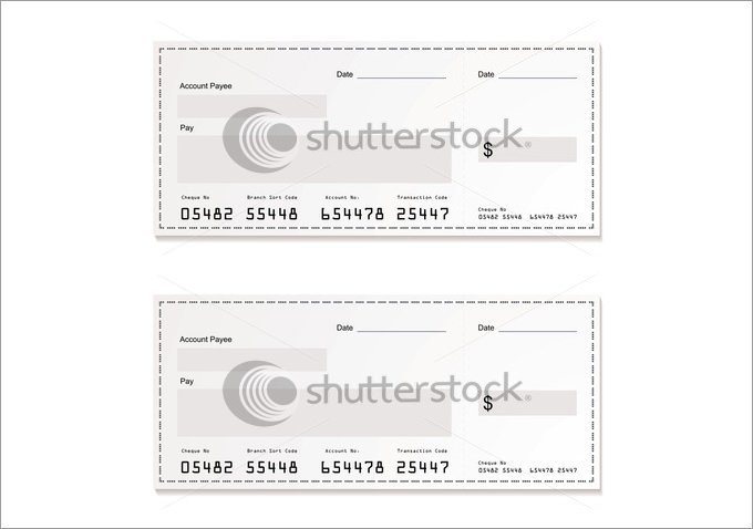 Check Printing Template Word Blank Check Template – 30 Free Word Psd Pdf & Vector