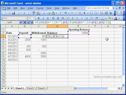 Check Register Template Excel Checkbook Register In Ms Excel