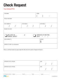 Check Request form Template Pto today Check Request form Pto today